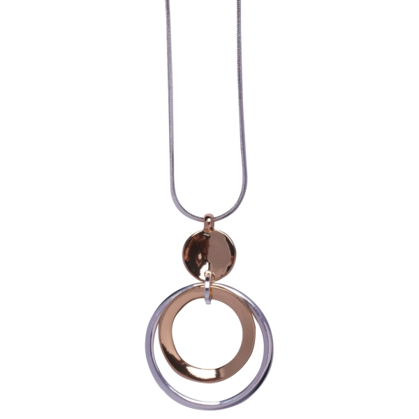 2descending-polished-rings-long-necklace-silver-gold