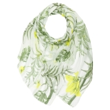 aromatic-floral-print-scarf-lime-green