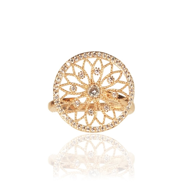 diamante-cutout-disc-adjustable-ring-rose-gold-onesize