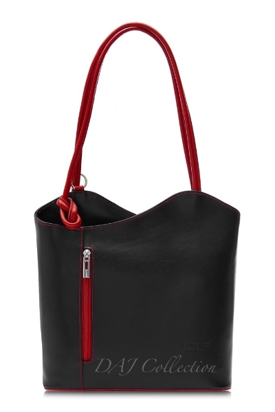 italian-leather-plain-backpack-black-red