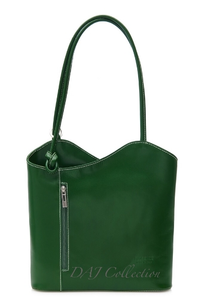 italian-leather-plain-backpack-green
