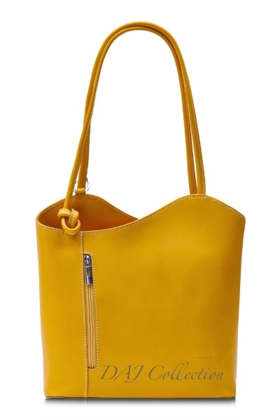 italian-leather-plain-backpack-yellow