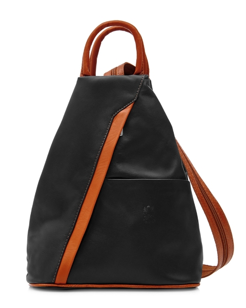 italian-leather-pyramid-zipped-backpack-black-light-tan
