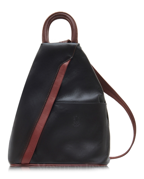 italian-leather-pyramid-zipped-backpack-black-tan