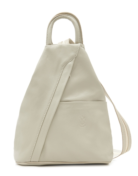 italian-leather-pyramid-zipped-backpack-cream