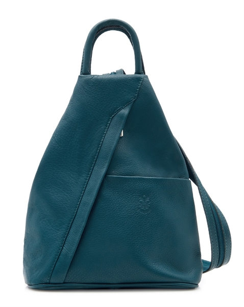 italian-leather-pyramid-zipped-backpack-teal