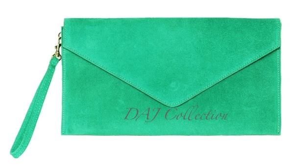 italian-leather-suede-clutch-bag-turquoise