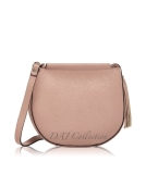 Italian Leather Tassel Saddle Bag