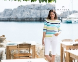 Marble 3-Tone Striped Jumper