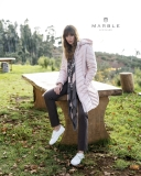 Marble Colour-Block & Animal Print Scarf