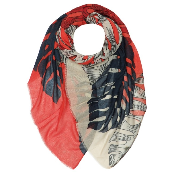 palm-leaves-print-scarf-navy