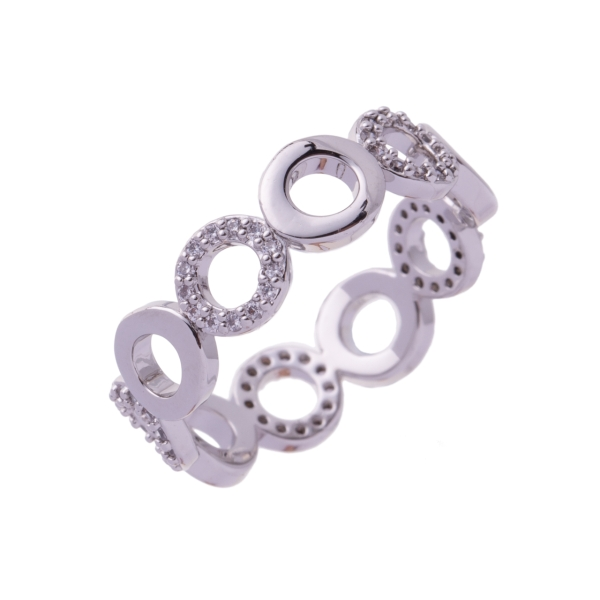 round-diamante-plain-linked-ring-silver-18