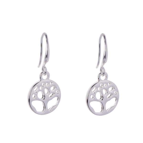 round-treeoflife-drop-earrings-silver