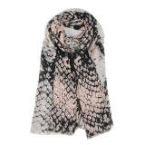 Snake Effect Print Scarf