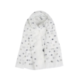 Sparkly & Faded Polka Dots Scarf