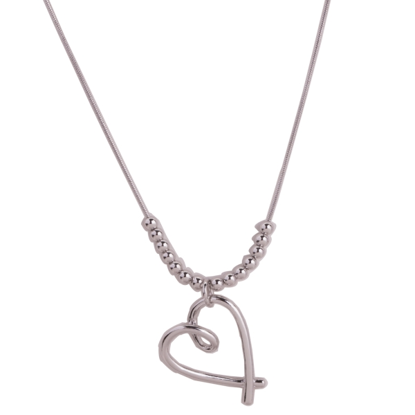 twisted-heart-beaded-necklace-silver