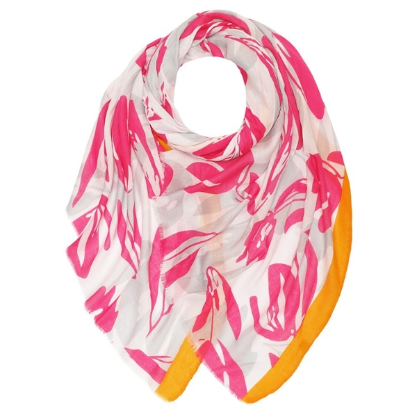 twotone-scattered-tulips-print-scarf
